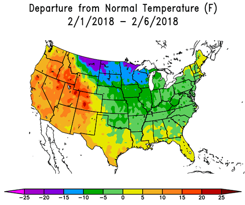 Open thread non petroleum feb 2 2018 peak oil barrel however by surface area more of the country has been in the extremely cold sector rather than the extremely warm one sciox Choice Image